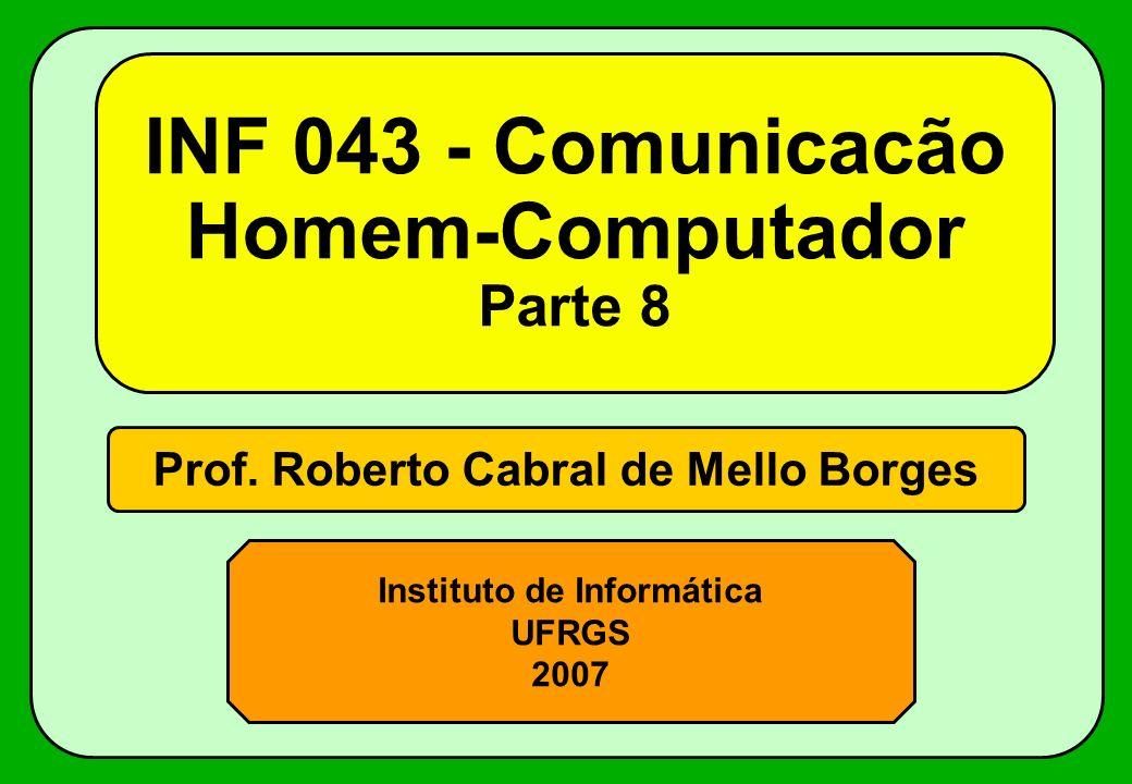 INF 043 - Comunicacão Homem-Computador Parte 8