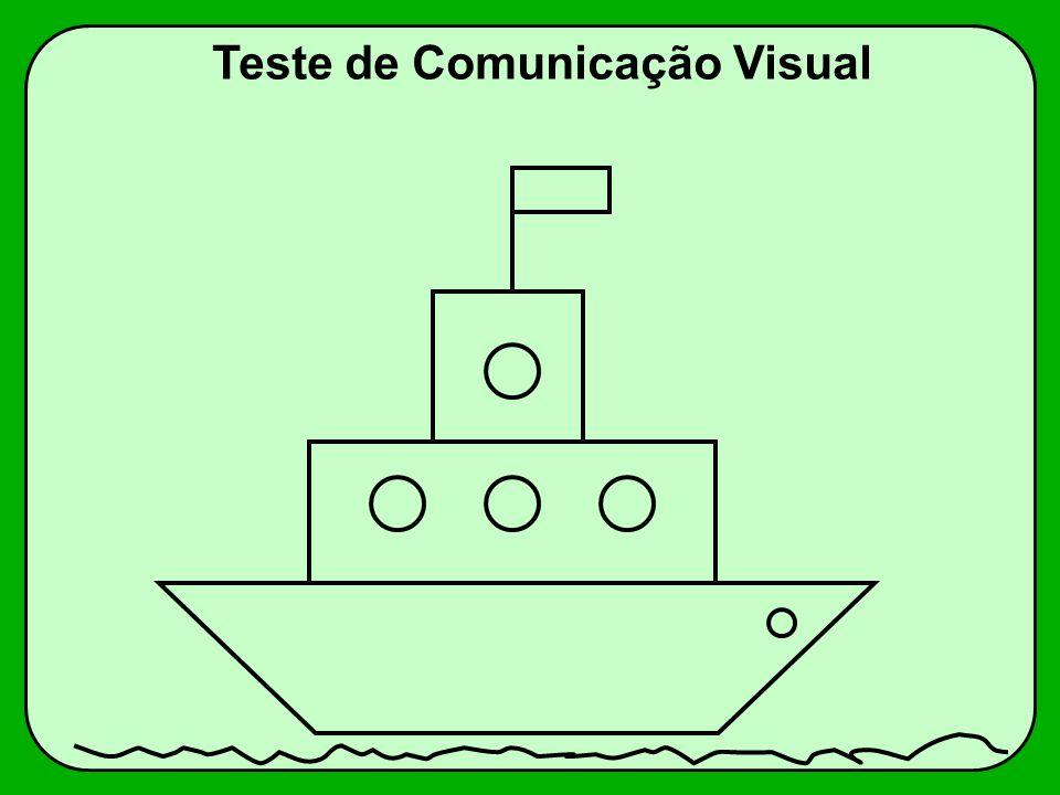 Teste de Comunicação Visual