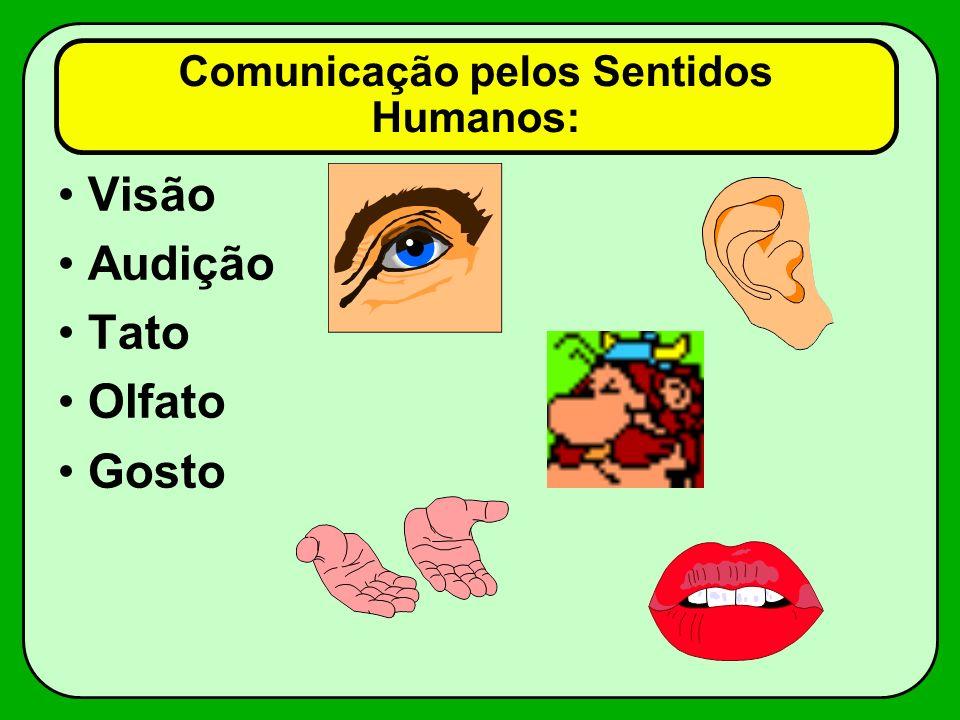 Comunicação pelos Sentidos Humanos: