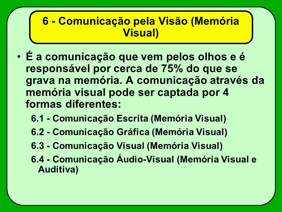 6 - Comunicação pela Visão (Memória Visual)