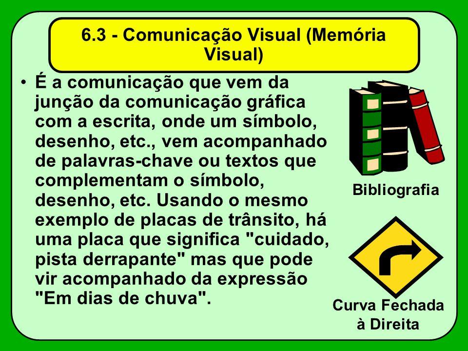 6.3 - Comunicação Visual (Memória Visual)