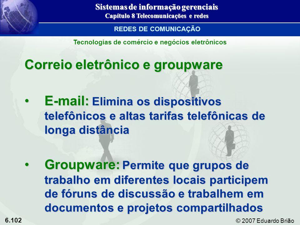 Correio eletrônico e groupware