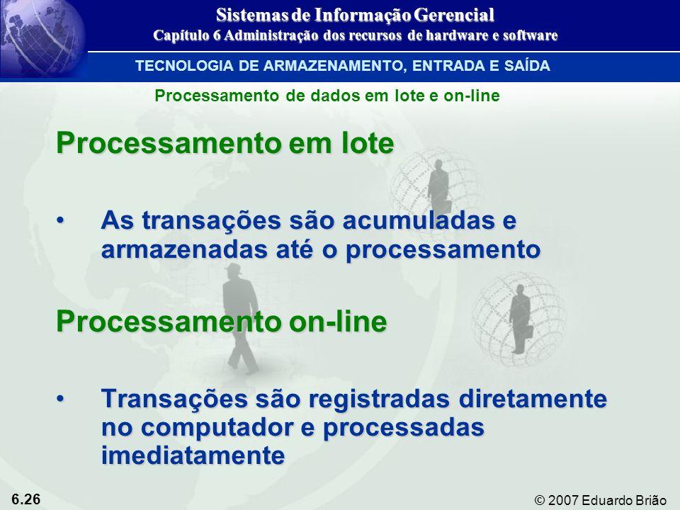Processamento on-line