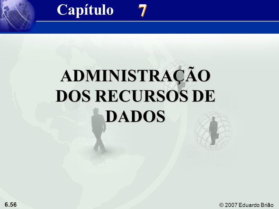 ADMINISTRAÇÃO DOS RECURSOS DE DADOS