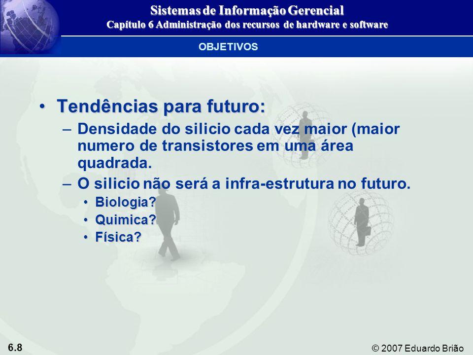 Tendências para futuro: