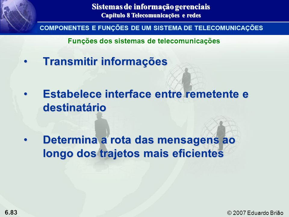 Transmitir informações
