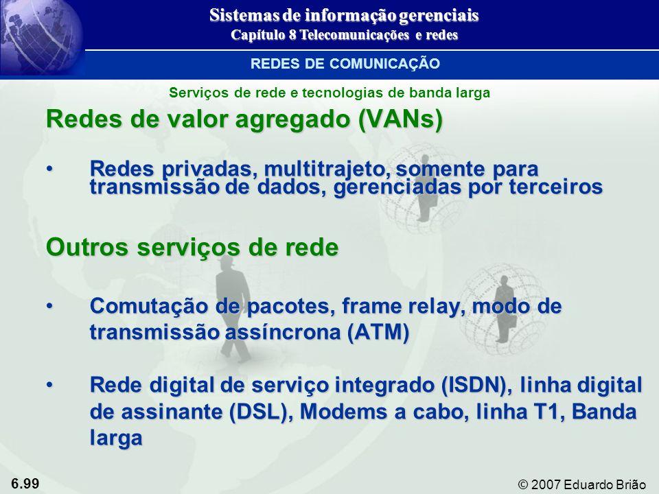 Redes de valor agregado (VANs)