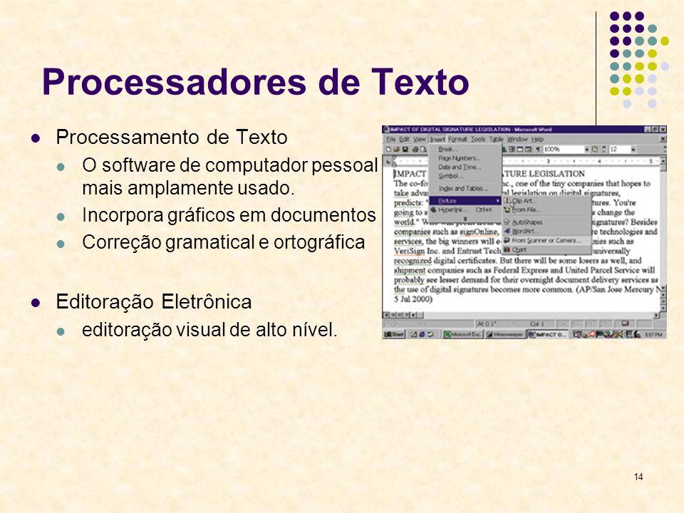 Processadores de Texto