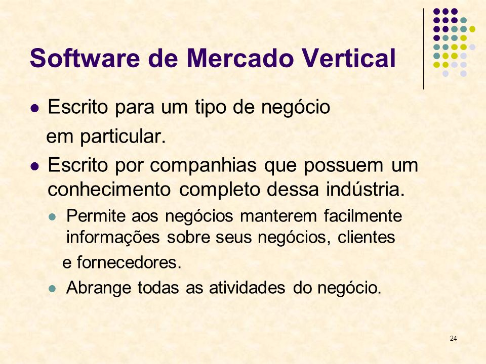 Software de Mercado Vertical