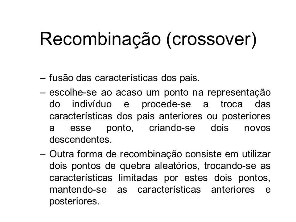 Recombinação (crossover)