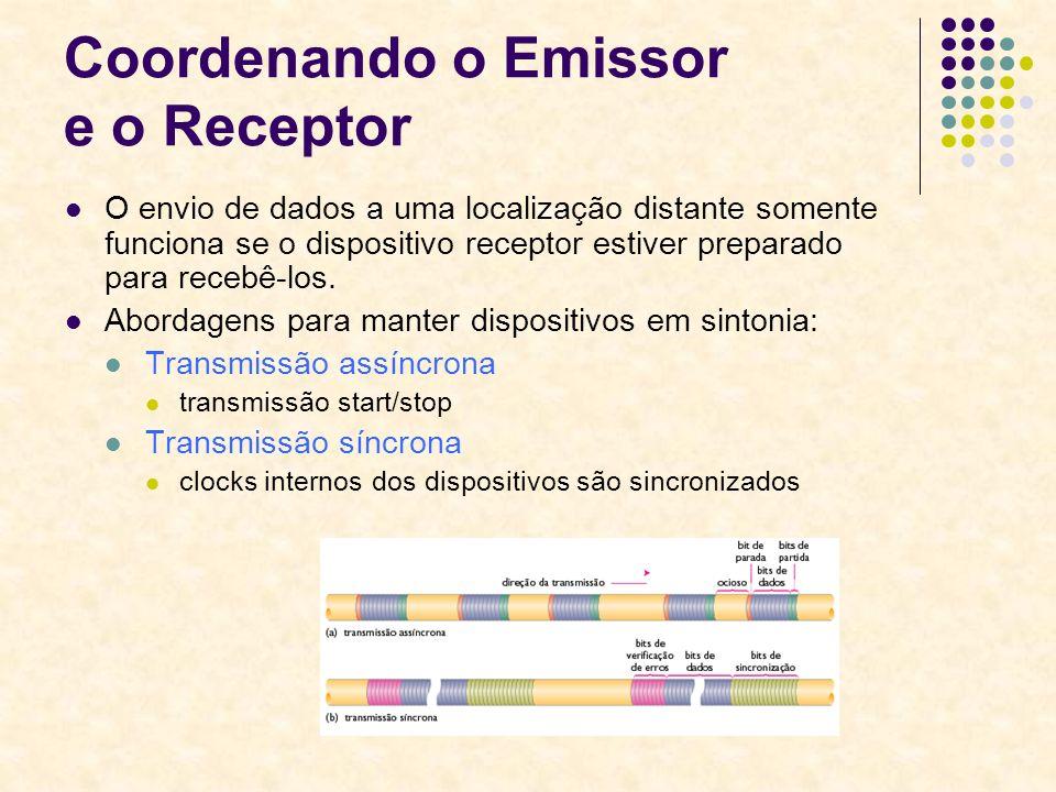 Coordenando o Emissor e o Receptor