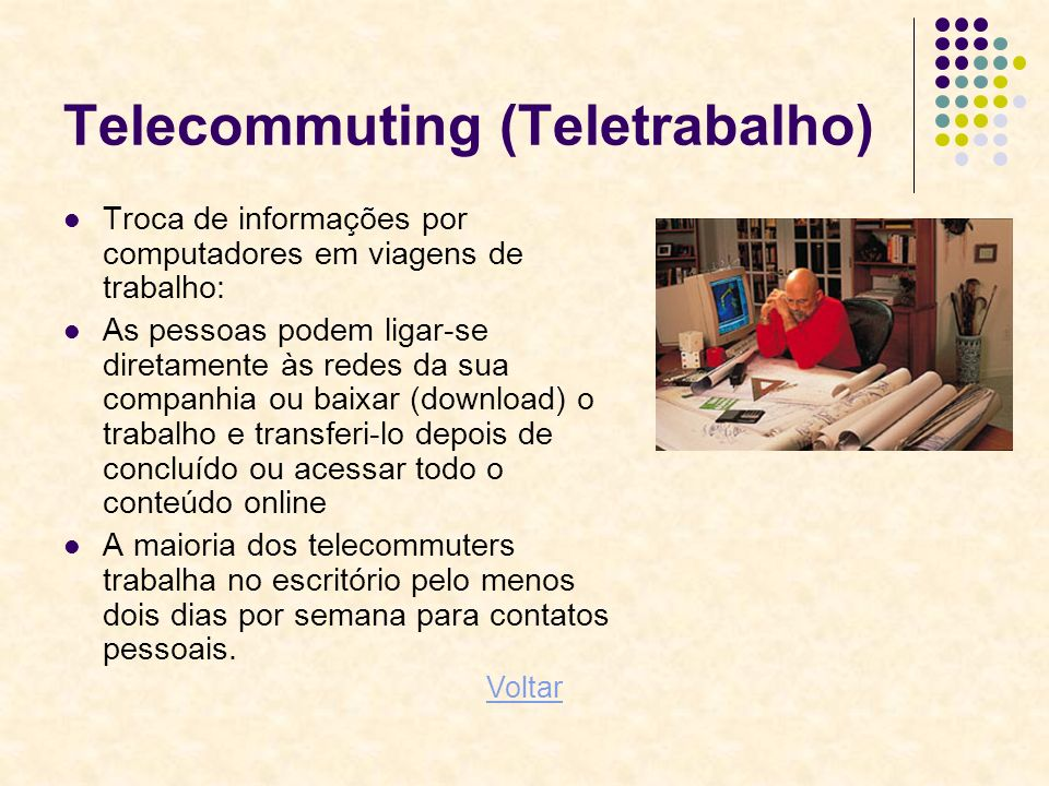 Telecommuting (Teletrabalho)