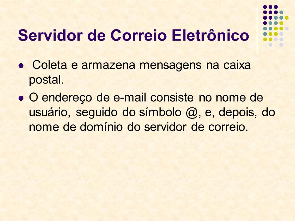 Servidor de Correio Eletrônico