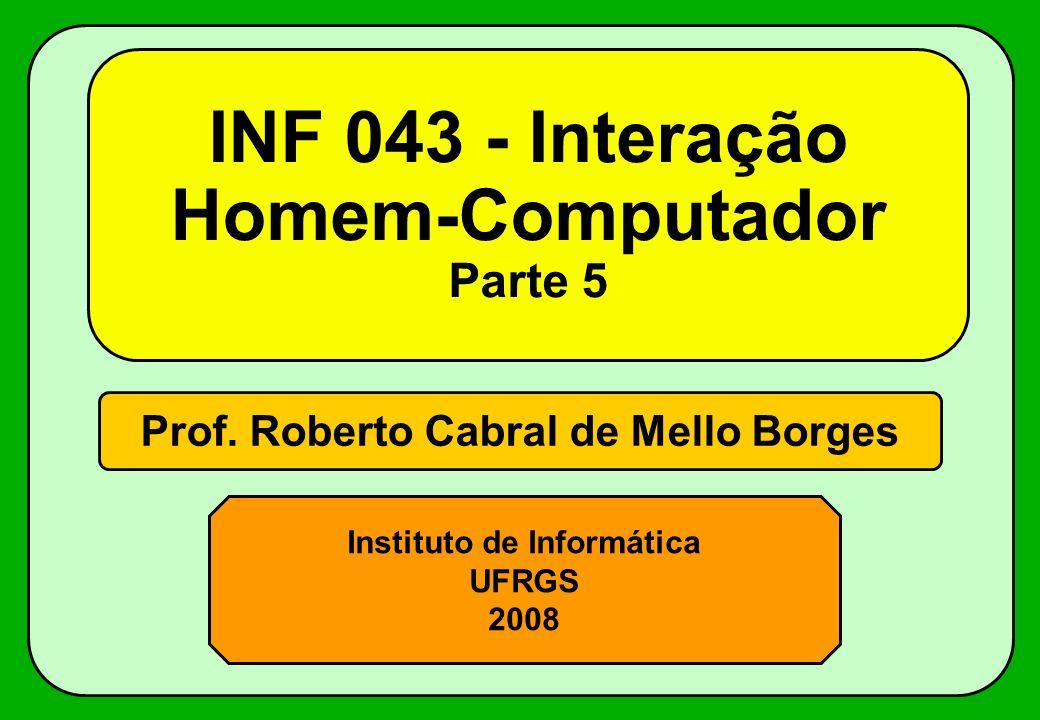 INF 043 - Interação Homem-Computador Parte 5