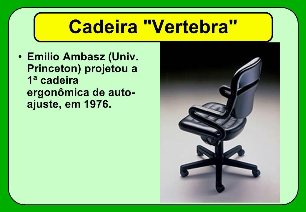Cadeira Vertebra Emilio Ambasz (Univ.