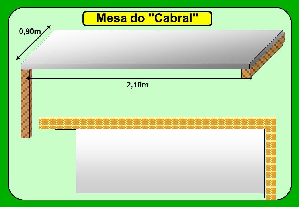 Mesa do Cabral 0,90m 2,10m