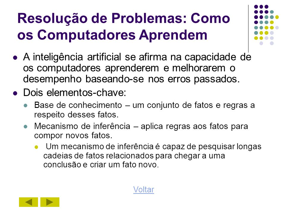 Resolução de Problemas: Como os Computadores Aprendem