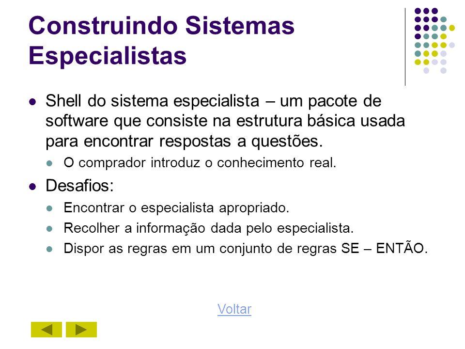 Construindo Sistemas Especialistas