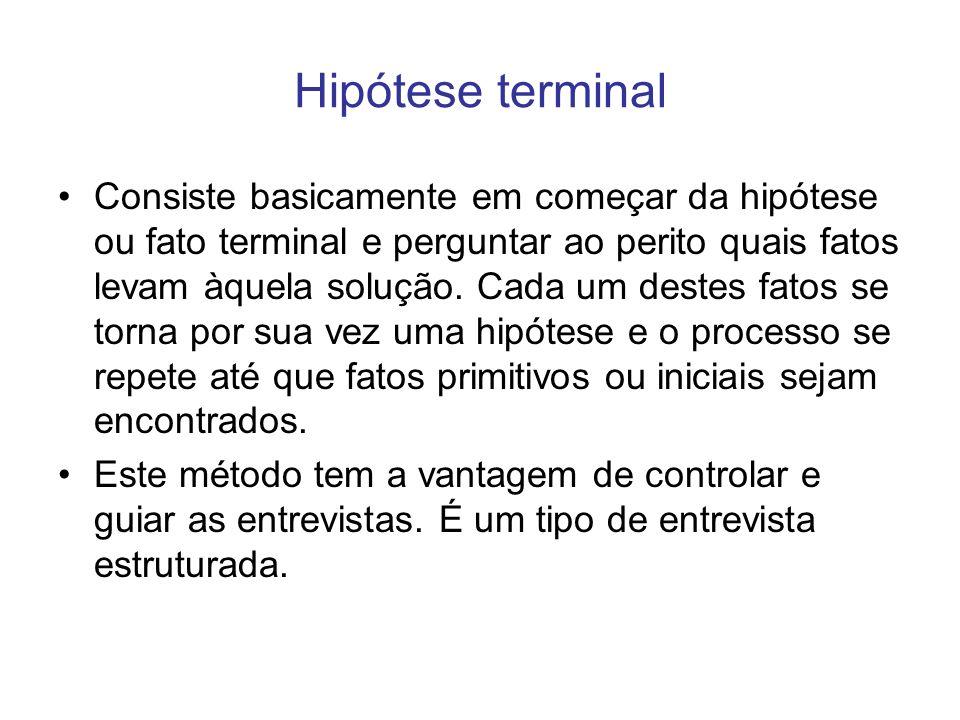 Hipótese terminal