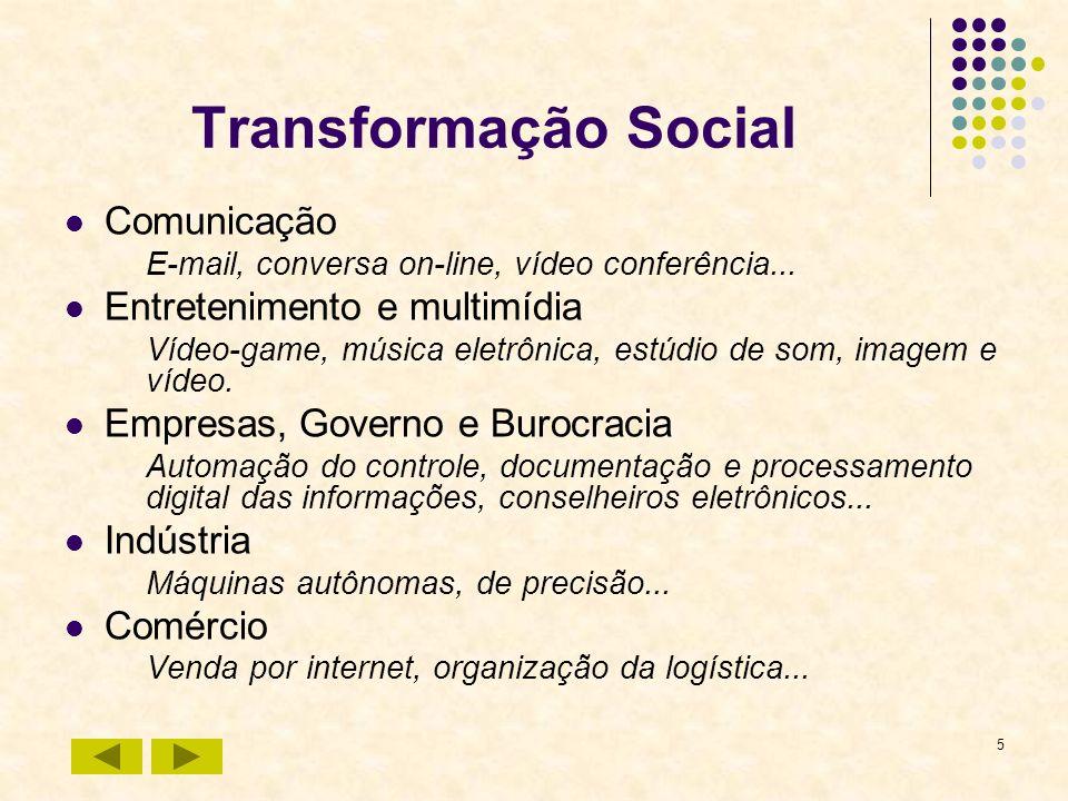 Transformação Social Comunicação Entretenimento e multimídia