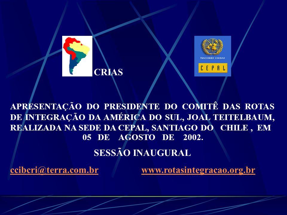 ccibcri@terra.com.br www.rotasintegracao.org.br