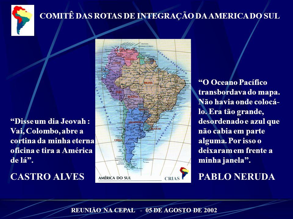 REUNIÃO NA CEPAL - 05 DE AGOSTO DE 2002