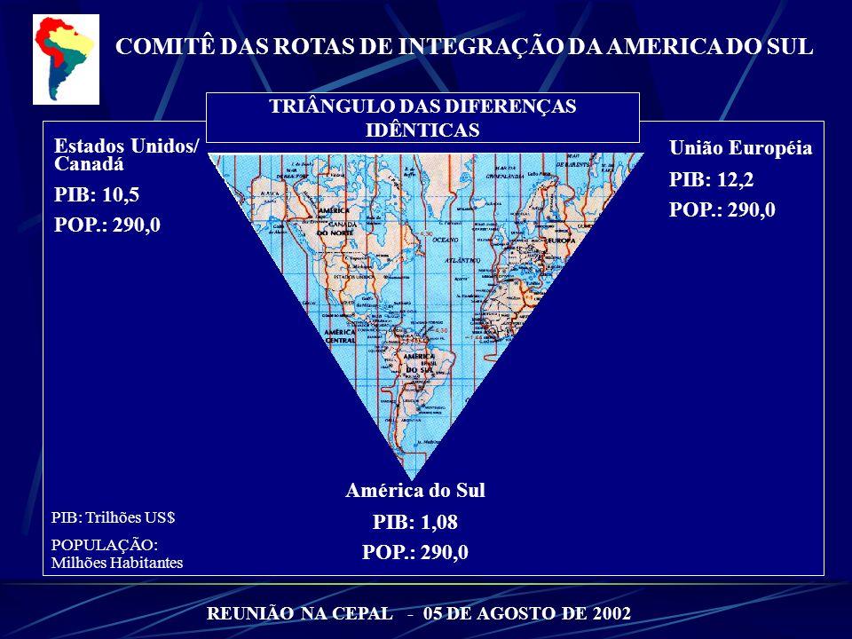 TRIÂNGULO DAS DIFERENÇAS REUNIÃO NA CEPAL - 05 DE AGOSTO DE 2002