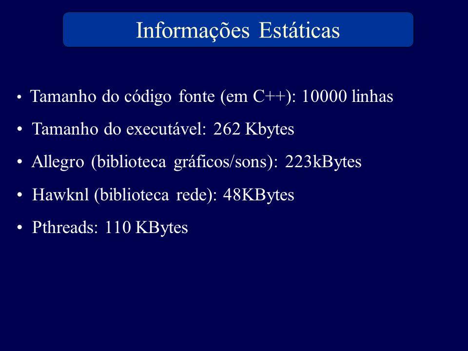 Informações Estáticas