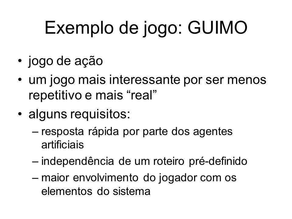Exemplo de jogo: GUIMO jogo de ação