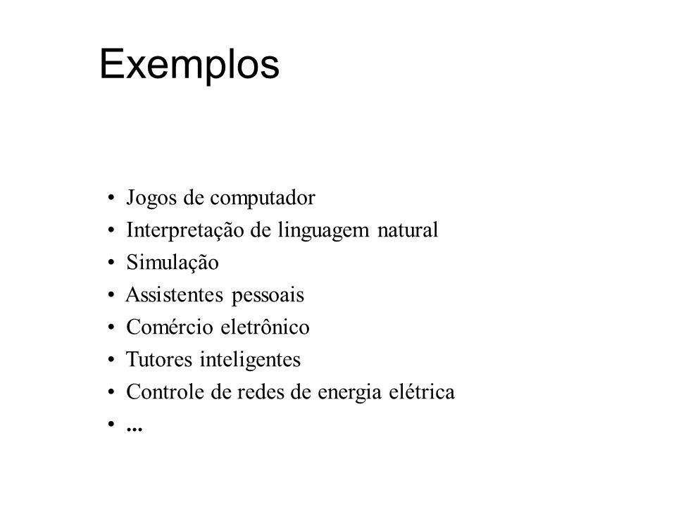 Exemplos Jogos de computador Interpretação de linguagem natural