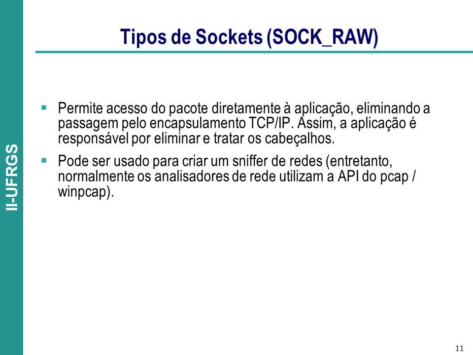 Tipos de Sockets (SOCK_RAW)