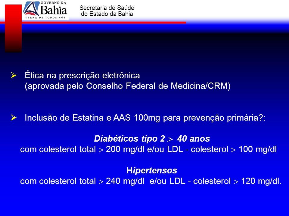 Ética na prescrição eletrônica