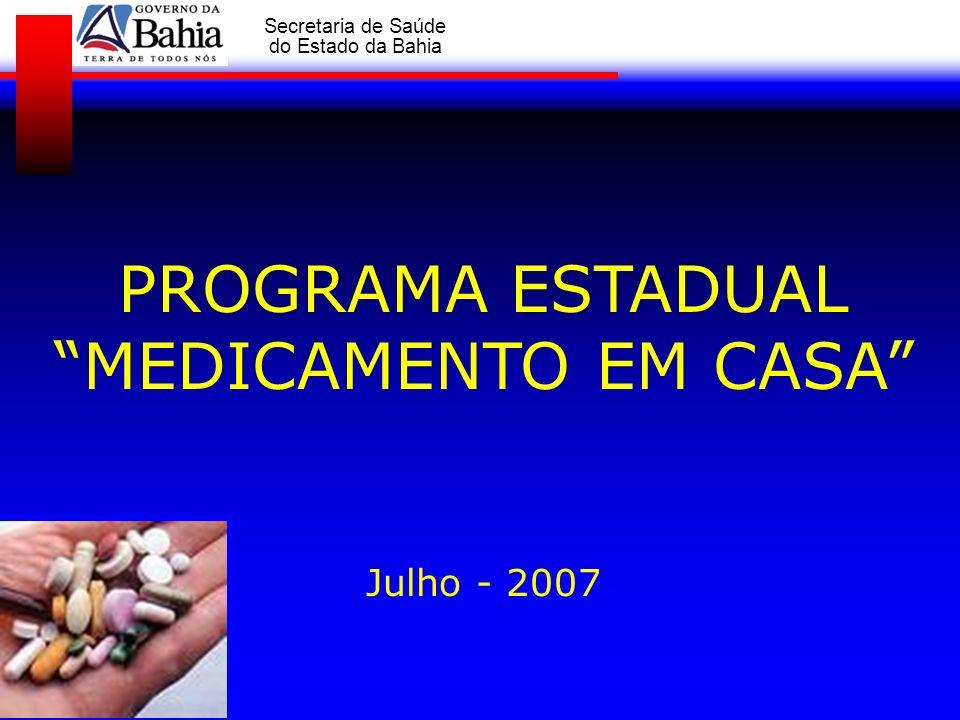 PROGRAMA ESTADUAL MEDICAMENTO EM CASA