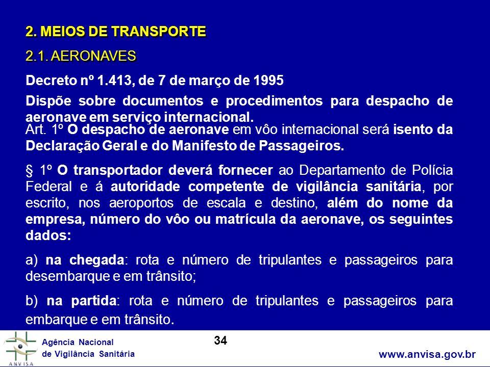 Decreto nº 1.413, de 7 de março de 1995