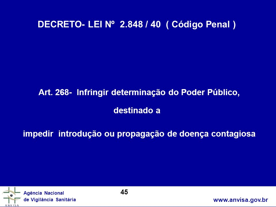 DECRETO- LEI Nº 2.848 / 40 ( Código Penal )