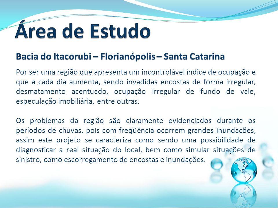 Área de Estudo Bacia do Itacorubi – Florianópolis – Santa Catarina
