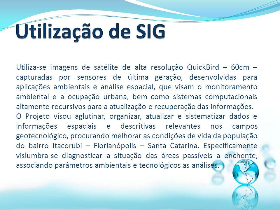 Utilização de SIG