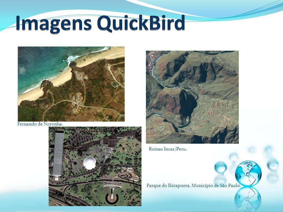 Imagens QuickBird Fernando de Noronha. Ruínas Incas/Peru.