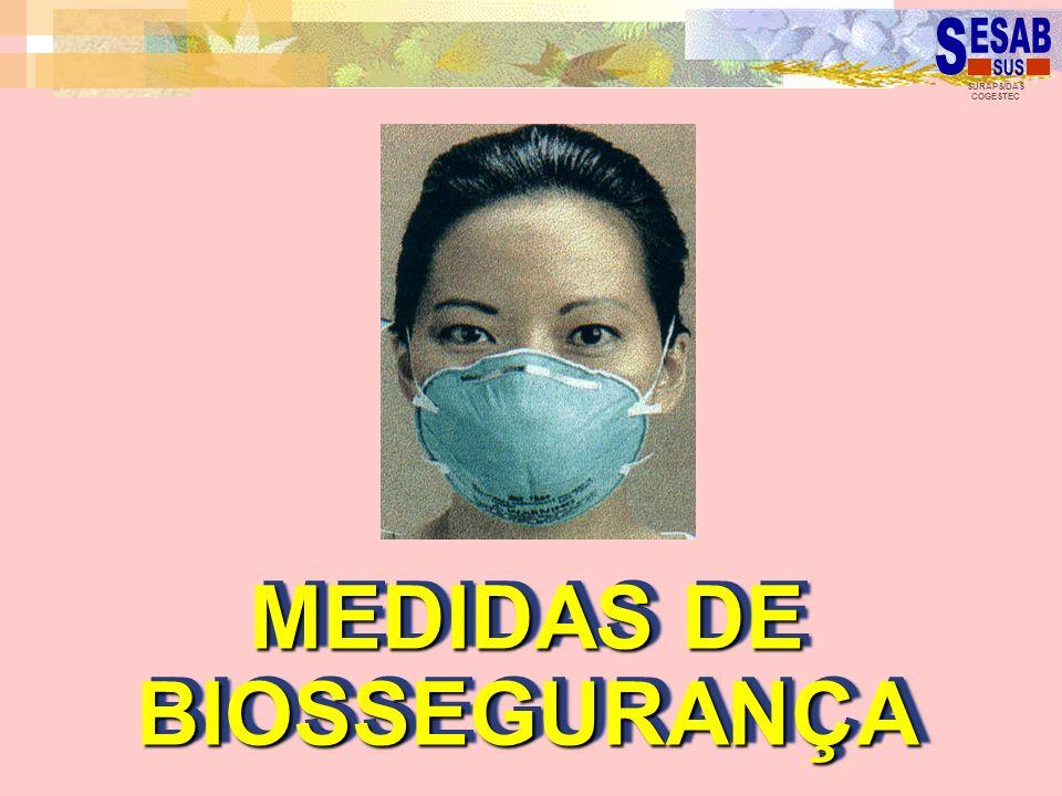 MEDIDAS DE BIOSSEGURANÇA