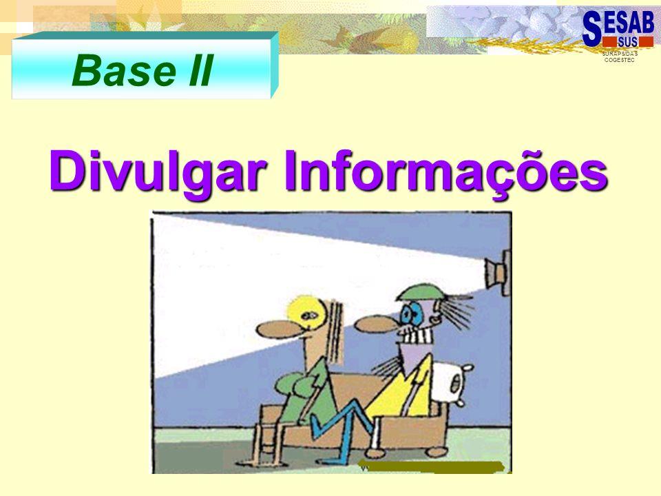 Base II Divulgar Informações