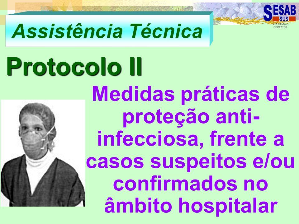 Assistência Técnica Protocolo II.