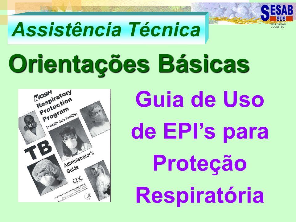 Guia de Uso de EPI's para Proteção Respiratória