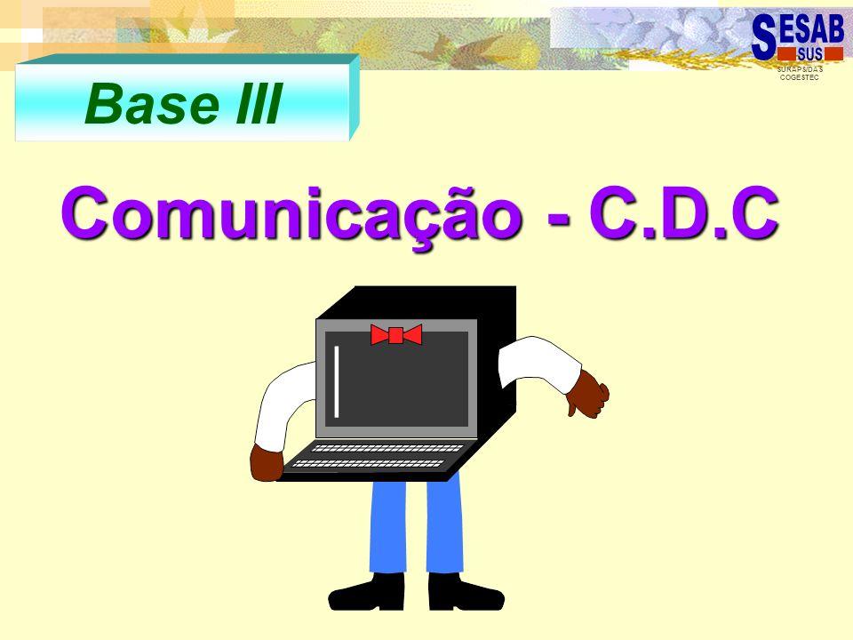 Base III Comunicação - C.D.C