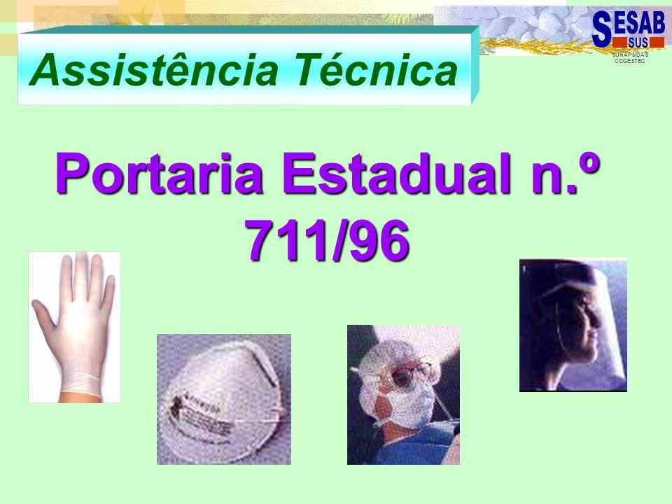 Assistência Técnica Portaria Estadual n.º 711/96