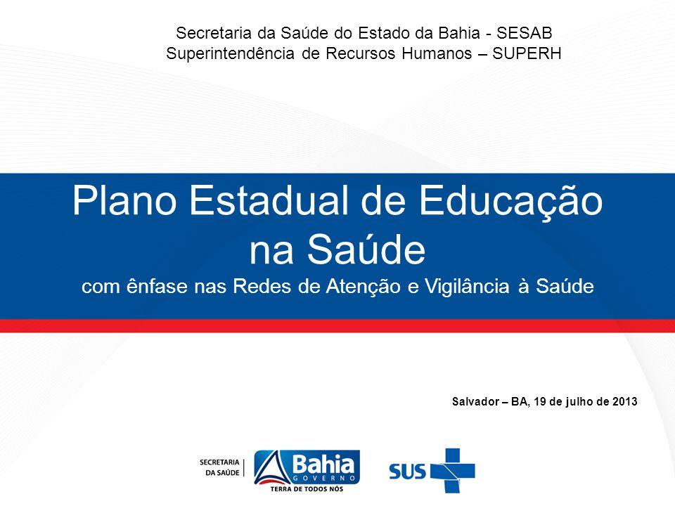 Salvador – BA, 19 de julho de 2013
