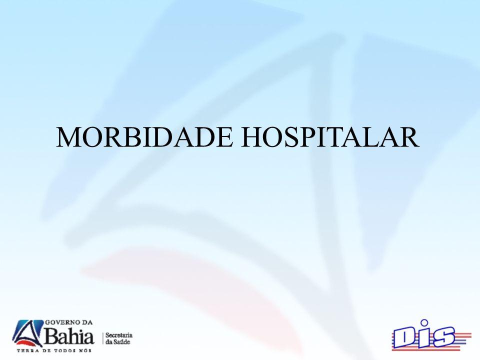 MORBIDADE HOSPITALAR