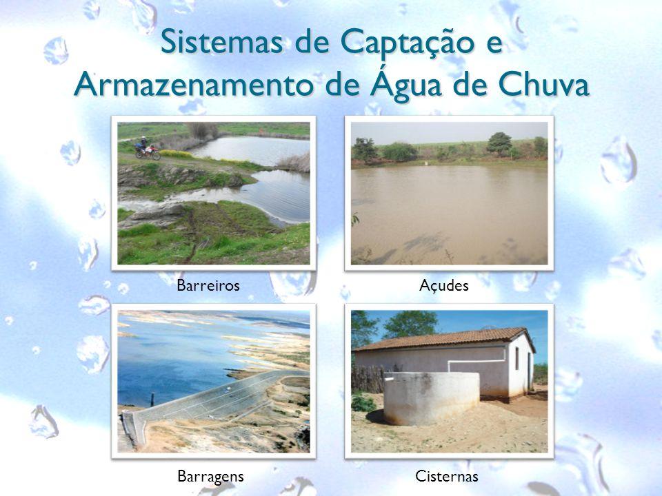 Sistemas de Captação e Armazenamento de Água de Chuva