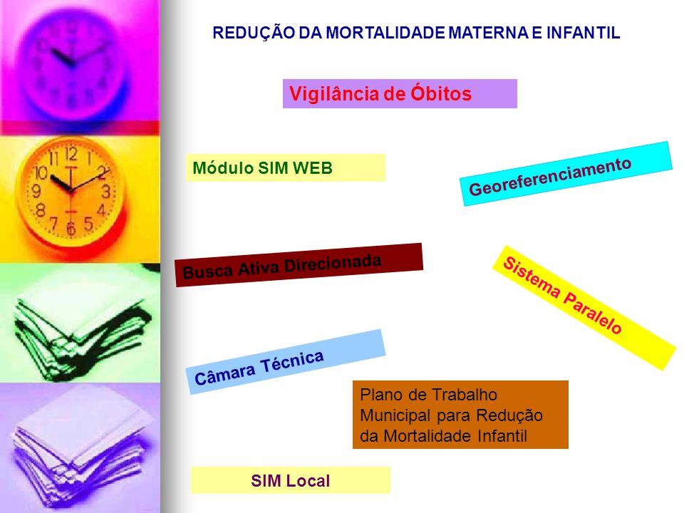 REDUÇÃO DA MORTALIDADE MATERNA E INFANTIL