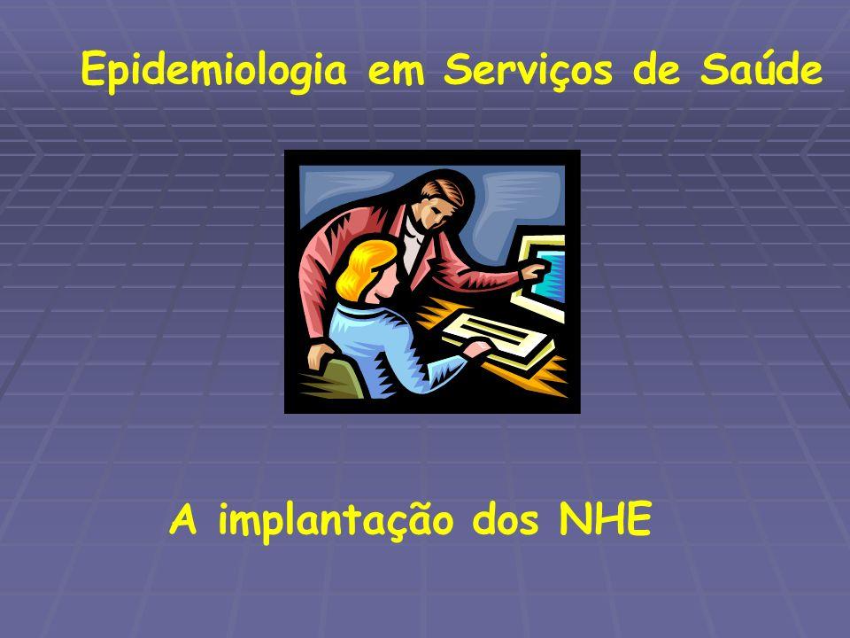 Epidemiologia em Serviços de Saúde