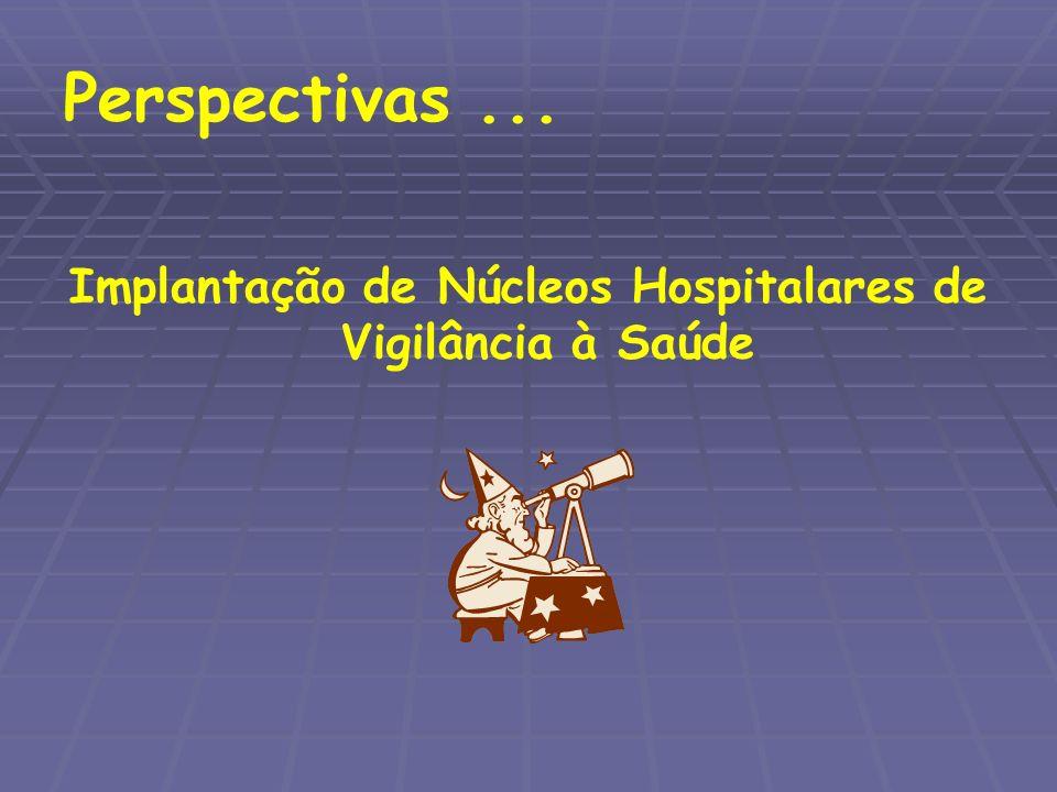 Implantação de Núcleos Hospitalares de Vigilância à Saúde